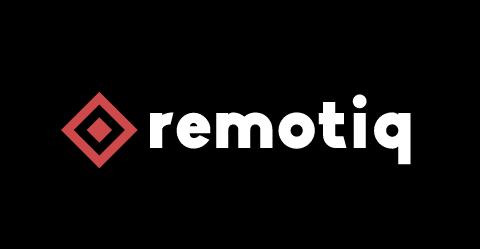 Remotiq.com Domain Name Logo